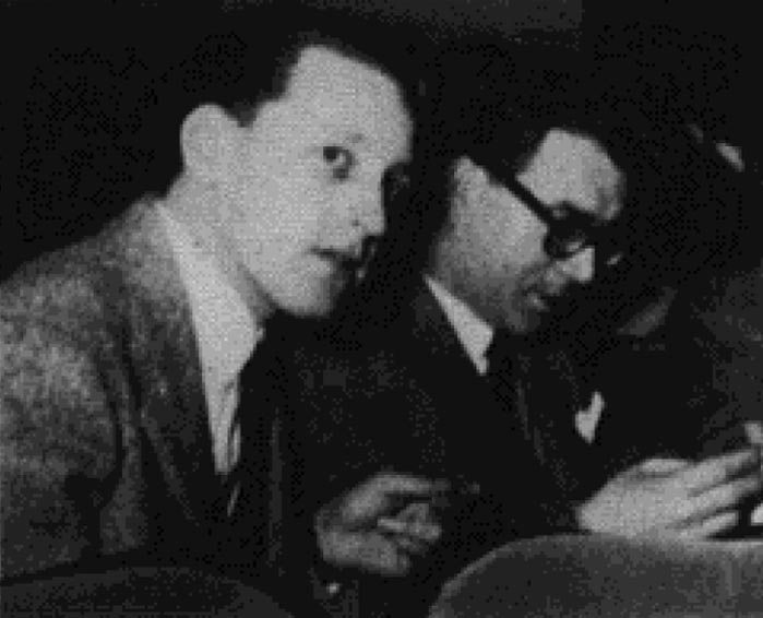 Sani and Pecora pictured in The PSA Journal, Dec. 1955, 36. Journal does not state who is who in the photo.