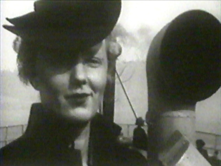 Dorothy Burritt in Three There (1940).