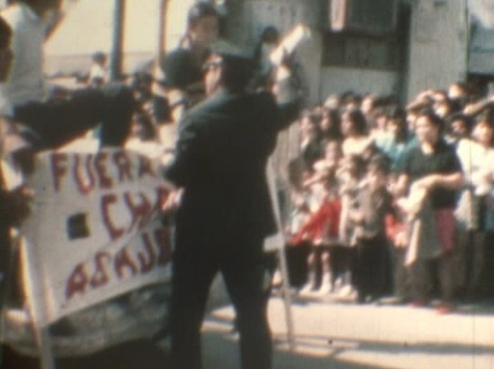 Image from Otro País [Another Country] (directed by the Cooperativa de Cine Marginal [Marginal Cinema Cooperative], 1970)